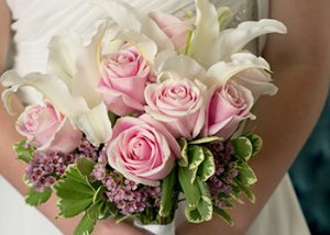 The Hitching Post - Stargazer & Rose Bouquet